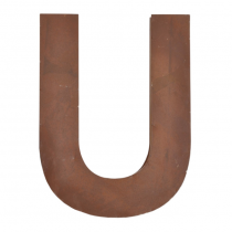 Metallbuchstabe U
