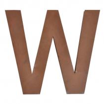 Metallbuchstabe W