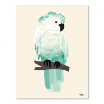 Michelle Carlslund Bild Cockatoo Green