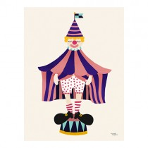 Michelle Carlslund Poster THE CLOWN