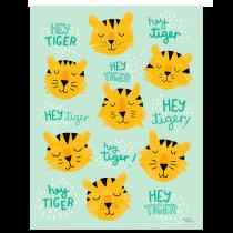 Michelle Carlslund Poster HEY TIGER