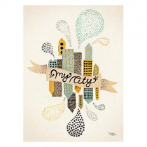 Michelle Carlslund Poster My City 2
