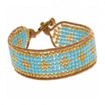 Armband Cross Blau