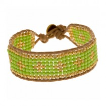 Armband Cross Grün