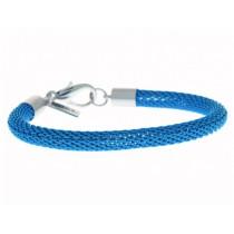 Armband Mesh Neon Blau
