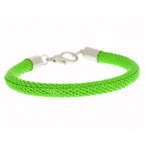 Armband Mesh Neon Grün