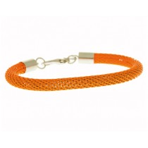 Armband Mesh Neon Orange
