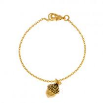 Armkettchen Acorn Gold