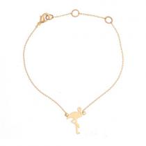 "Armkettchen ""Flamingo"" Gold"