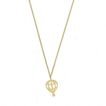 "Halskette ""Hot Air Balloon"" Gold"