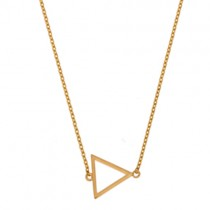 "Halskette ""Triangle"" Gold"