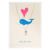 Halskette mit Umschlag ME LIKE YOU