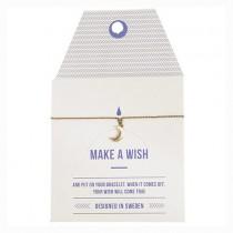 """Armband """"Make a wish"""" MOND Gold"""