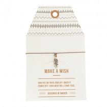 "Armband ""Make a wish"" Feder Silber"