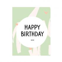 "Mini Geschenkbox ""Happy Birthday"""