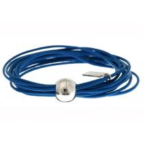 Armband Multi Strand Blau