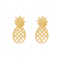 "Ohrringe ""Ananas"" Gold"
