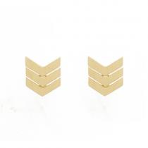 "Ohrringe ""Arrow"" Gold"