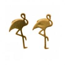 Ohrringe FLAMINGO Gold