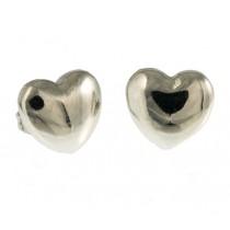 "Ohrringe ""Hearts"" Silber"
