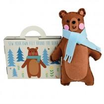 Nähset Bruno der Bär