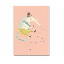"Karte ""Paper & Cloth"" Happy Ameisenbär"