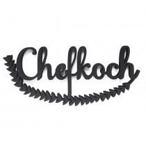 """3D Schrift """"Chefkoch"""""""