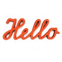 """3D Schrift """"Hello"""""""