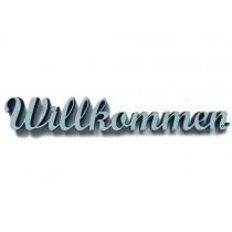 """3D Schrift """"Willkommen"""""""