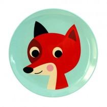Melamin Kinderteller Fuchs