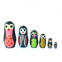 Matroschka Pocket Owls