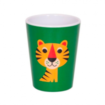 Melamin Kinderbecher Tiger