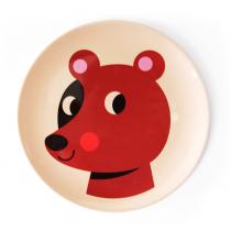 Melamin Kinderteller Bär