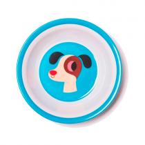 Melamin Kinderschüssel Hund