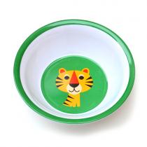 Melamin Kinderschüssel Tiger