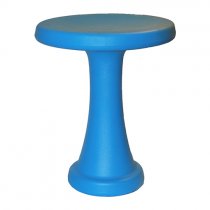 One Leg Hocker Blau