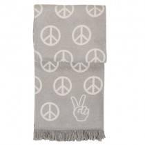 """Peace"" Kuscheldecke"