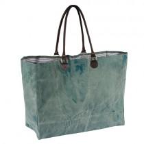 Jumbo Shopper Aqua