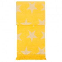 Kuscheldecke Stars Gelb