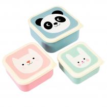 Lunchboxen Set Happy Friends