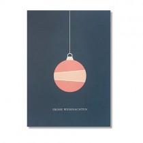 """Karte Papier Ahoi """"Frohe Weihnachten"""""""