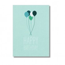 "Karte Papier Ahoi ""Happy Birthday"""