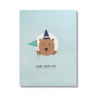 "Karte Papier Ahoi ""Hello little one"""