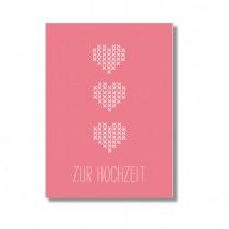 """Karte Papier Ahoi """"Zur Hochzeit"""""""