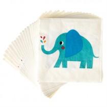 "Papierservietten ""Elvis der Elefant"""