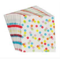 Papierservietten Konfetti