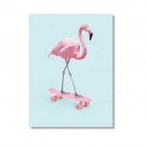 "Karte ""Paul Fuentes"" Flamingo"