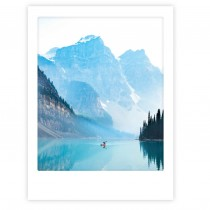 "Pickmotion Art Poster ""Blue Lake Adventures"""
