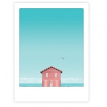 "Pickmotion Art Poster ""Life is a beach"""