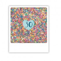"""Pickmotion Karte """"30"""""""
